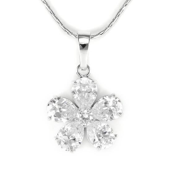 Swarovski kristályos virágos nyaklánc