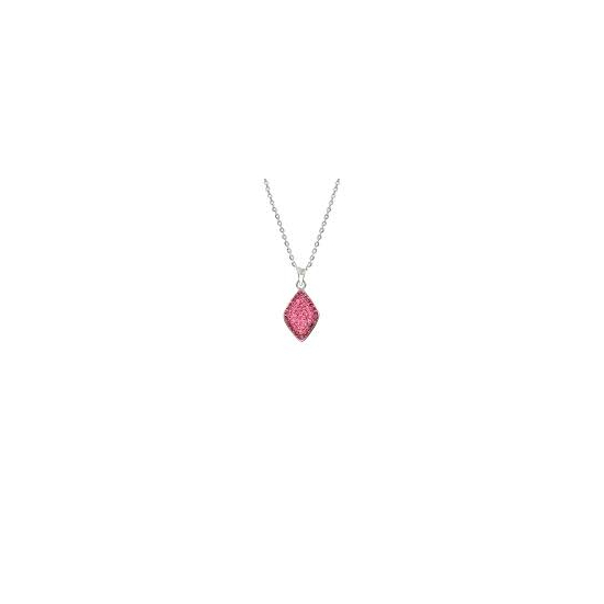 Swarovski® kristályos nemesacél nyaklánc - Allure Rose