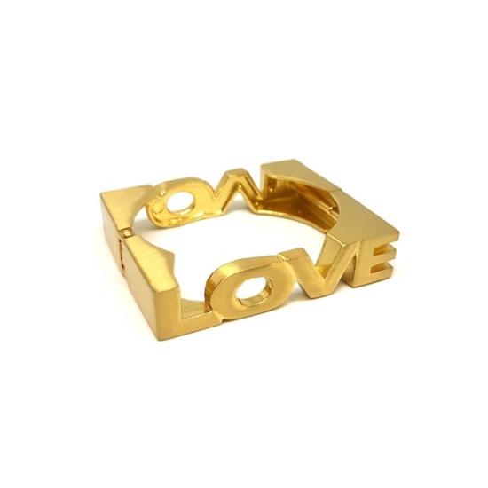 Love - Merev bizsu karkötő