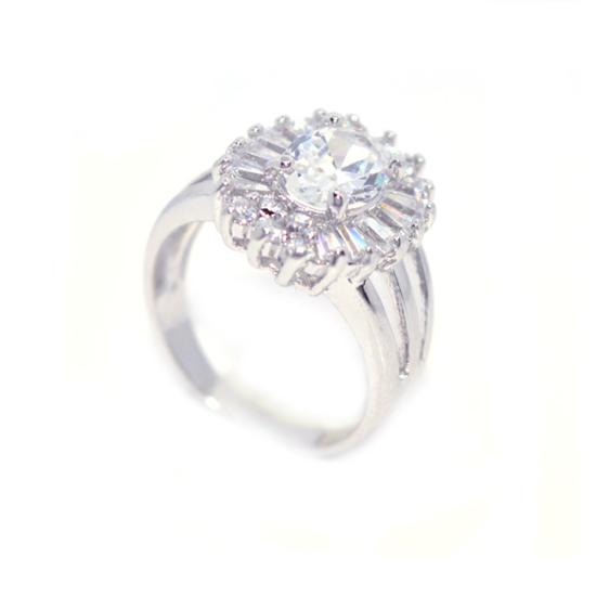 Swarovski kristályos köves gyűrű-7