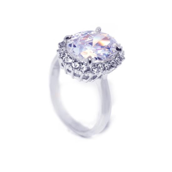 Swarovski Nagy kristályos gyűrű -9