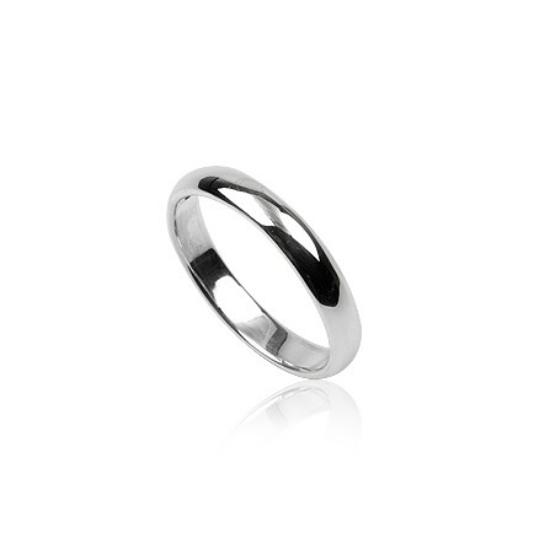 Tükörfényes ezüst gyűrű-6