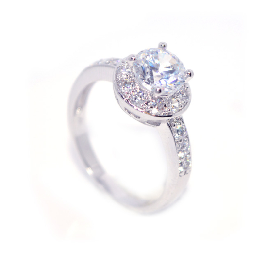 Atina - Swarovski Kristályos Csillogó gyűrű