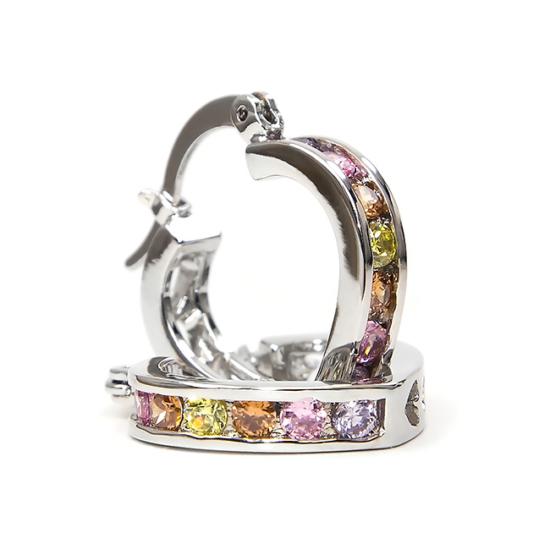 Flame Swarovski kristályos fülbevaló - Multi